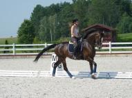 Aiga ar Dionu treniņā Lietuvā