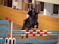 Kristīne ar Zirgu Gongs