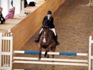 Karolīna ar zirgu Calandria. V.Rutkovska foto