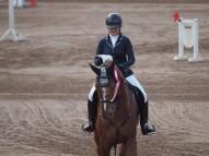 Marta Smilga ar zirgu Doner Gold
