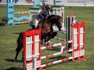 Anita Ozola ar zirgu Don Vento