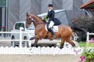 Agnese Kukaine ar zirgu Eko