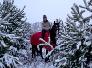 Ingūna un Vento ziemā