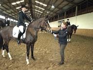 Agnese Kukaine ar zirgu Diona Haleja 2.vieta 2. grupas shēmās Ziemas čempionātā