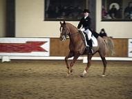 Aiga Silavniece ar Londay Light junioru konkurencē