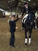 Gundega Krīgere ar zirgu Donnerwelle 2. vita Mazā apļa shēmās Ziemas čempionātā