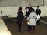 Apbalvošana. Agnese Kukaine ar Lambordžīnī  II Mazajā Balvā 3. vieta