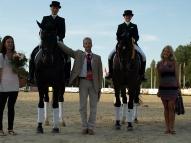 Gundega Krīgere ar zirgu Donnerwelle un Aiga Silavniece ar zirgu Lambordžīnī II 1. vieta