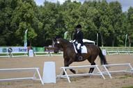 Līga ar zirgu Gundega