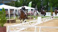 Līga ar zirgu Gundega goda apli veicot_1.vieta kopvētējumā